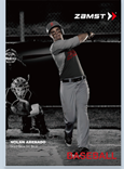 Zamst leaflet for Baseball